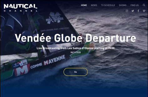 Nautical Channel, canal temático de Vértice 360, estrena nueva web